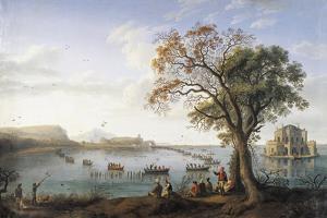 Coot Hunting at Lake Fusano, 1737-1807 by Jacob Philipp Hackert