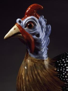 Rooster, Porcelain by Jacob Philipp Hackert