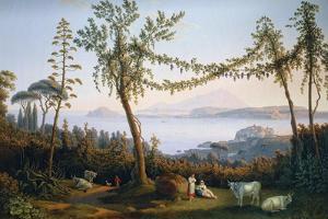 The Gulf of Pozzuoli, 1737-1807 by Jacob Philipp Hackert