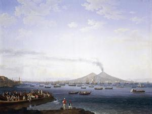 The Return of the Fleet from Algeria to the Bay of Naples, 1737-1807 by Jacob Philipp Hackert