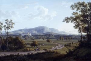 View of Persano by Jacob Philipp Hackert
