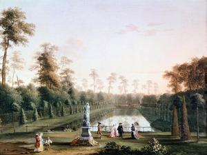 Walk in Zoological Gardens by Jacob Philipp Hackert