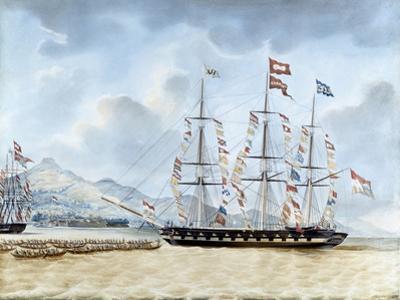 Nagasaki: The Merchant Ship, Amboina, Captain J.Lourens, 1842