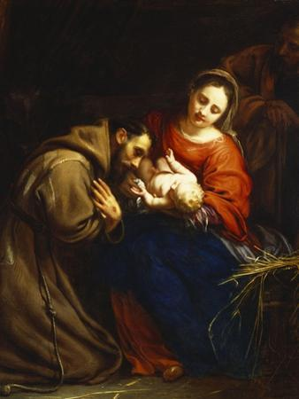 The Holy Family with St. Francis
