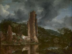 Landscape with the Ruins of the Castle of Egmond, 1650-55 by Jacob van Ruisdael