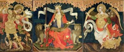Justice and the Archangels, 1421