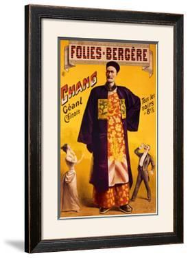 Folies Bergeres, Chinese Giant by Jacobi