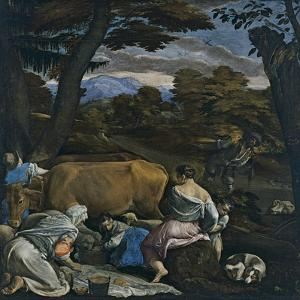 The Parable of the Sower by Jacopo Bassano