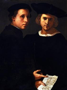 The Two Friends by Jacopo da Carucci Pontormo