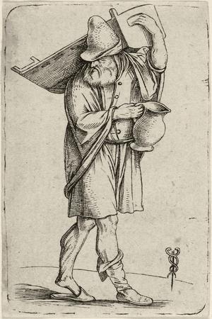 Man with Cradle, C. 1501-1503