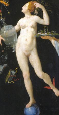 Fortune by Jacopo Ligozzi