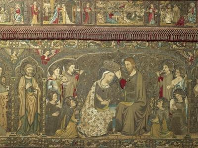 Frontal Depicting the Coronation of the Virgin Between Eight Angels and Fourteen Saints, 1366 by Jacopo Ligozzi