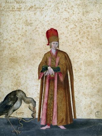 Pageboy of Great Sultan by Jacopo Ligozzi