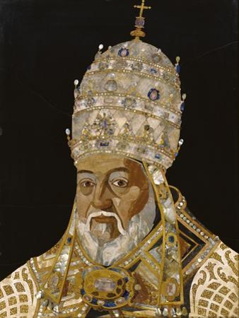Portrait of Pope Clement VIII, 1600-1 by Jacopo Ligozzi