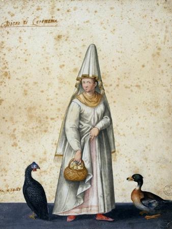 Turkish Peasant by Jacopo Ligozzi