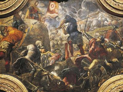 The Venetians Help the Brescians Break Filippo Maria Visconti's Siege, 1438