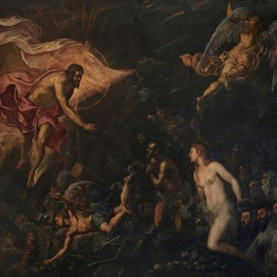 Christ's Descent into Limbo by Jacopo Robusti Tintoretto