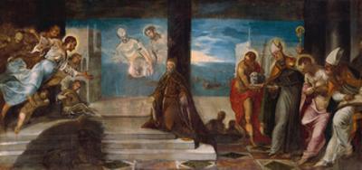 Doge Alvise Mocenigo presented to the Redeemer, c.1577