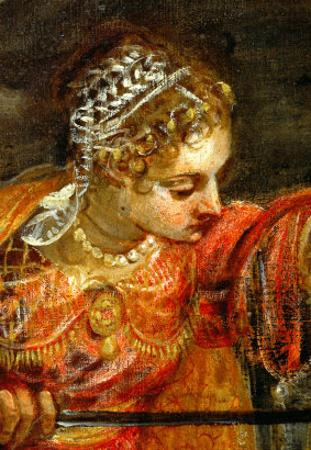 Judith and Holofernes by Jacopo Robusti Tintoretto