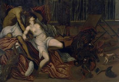 La violencia de Tarquino, 16th century by Jacopo Robusti Tintoretto