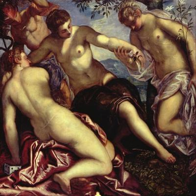 Mercury and the Three Graces, 1578