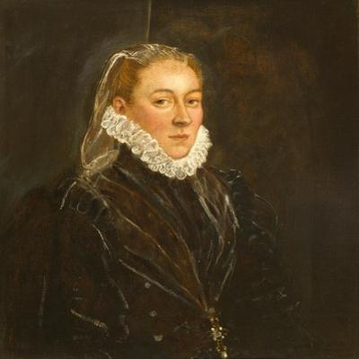 Portrait of a Lady, c.1570-1580 by Jacopo Robusti Tintoretto