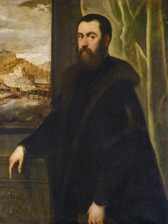 Portrait of a Venetian Senator, c.1570 by Jacopo Robusti Tintoretto