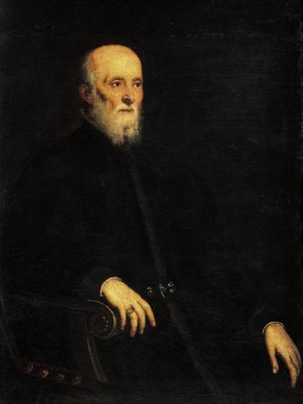 Portrait of Alvise Cornaro, c.1562-65 by Jacopo Robusti Tintoretto