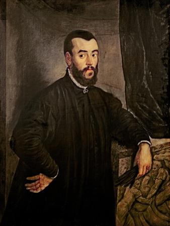 Portrait of Andreas Vesalius by Jacopo Robusti Tintoretto