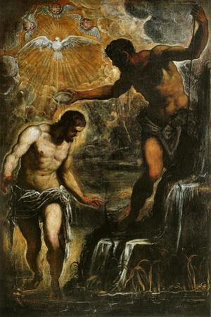 The Baptism of Christ, c.1589