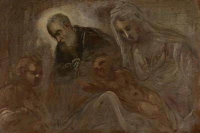 The Holy Family with the Young Saint John the Baptist, 1547 by Jacopo Robusti Tintoretto