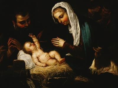 The Holy Family by Jacopo Robusti Tintoretto