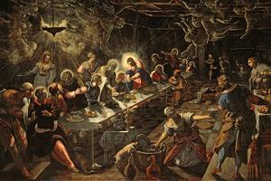 The Last Supper, 1594 by Jacopo Robusti Tintoretto