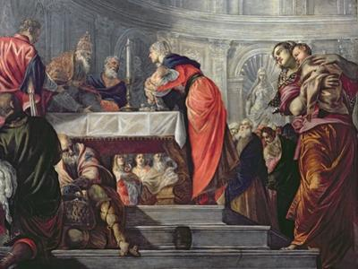 The Presentation of Jesus in the Temple by Jacopo Robusti Tintoretto
