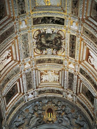 Ceiling of Golden Staircase at Doge's Palace