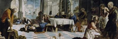 Christ Washing the Feet of the Disciples, 1548