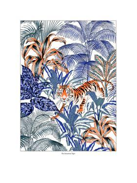 Tiger in it's Habitat by Jacqueline Colley