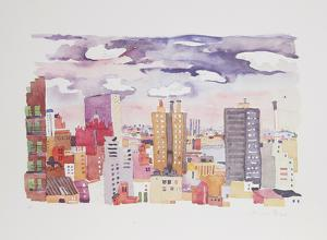 New York Landscape 4 by Jacqueline Fogel