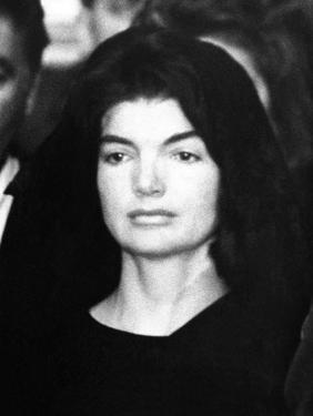 Jacqueline Kennedy at Ceremonies for Assassinated Husband, Pres John Kennedy, Nov 24, 1963
