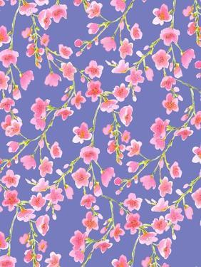 Cherry Blossom Blue by Jacqueline Maldonado