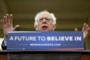 DEM 2016 Sanders by Jacquelyn Martin