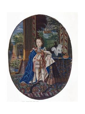 Prince James Francis Edward Stuart (1688-176), 1925 by Jacques-Antoine Arlaud