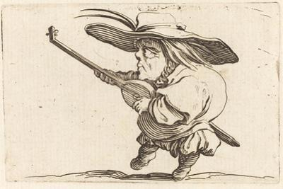 The Lute Player, c.1622 by Jacques Callot
