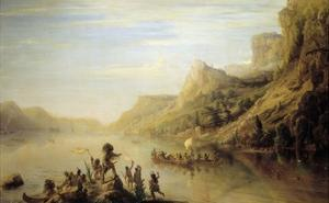 Jacques Cartier Discovering the Saint Lawrence River (Canada)