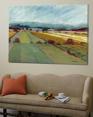 Pastel Landscape VIII by Jacques Clement