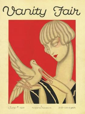 Vanity Fair Cover - June 1926 by Jacques Darcy