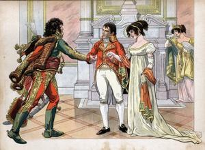 First Consul Gives the Hand of His Sister Caroline, to Joachim Murat by Jacques de Breville