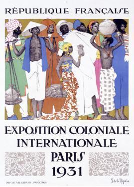 Exposition Coloniale, Paris 1931 by Jacques de la Neziere
