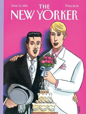 The New Yorker Cover - June 13, 1994 by Jacques de Loustal