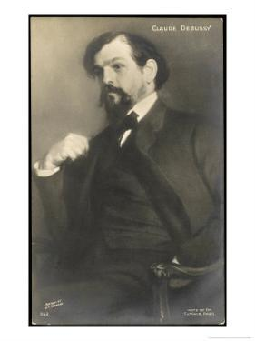 Claude Debussy French Composer by Jacques-emile Blanche